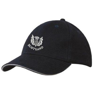 Traditional Thistle Design Baseball Cap - 2 styles