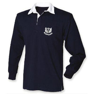 733867246 Thistle, Classic Long Sleeve Rugby Shirt – Scottish Clothing Online