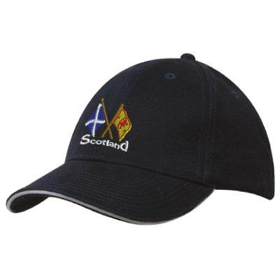 Intersecting Scottish Flags, Baseball Cap