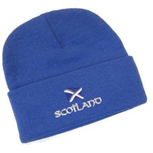Scottish Saltire Design, Classic Bob Cap
