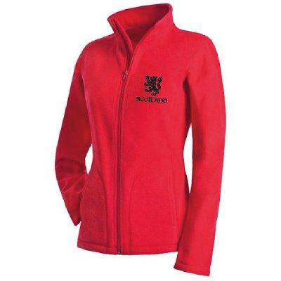 Rampant Lion Design, Ladies Microfleece