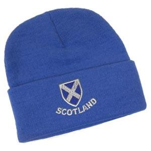 Saltire Shield Design, Classic Bob Cap