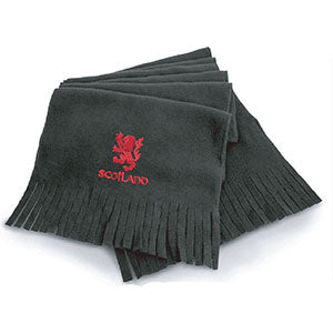 Rampant Lion Design, Warm Microfleece Scarf