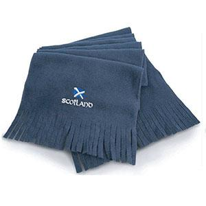 Scotland Flag Design, Microfleece Scarf