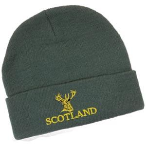 Scottish Stag's Head Design, Classic Bob Cap