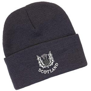 Traditional Thistle Design, Classic Bob Cap
