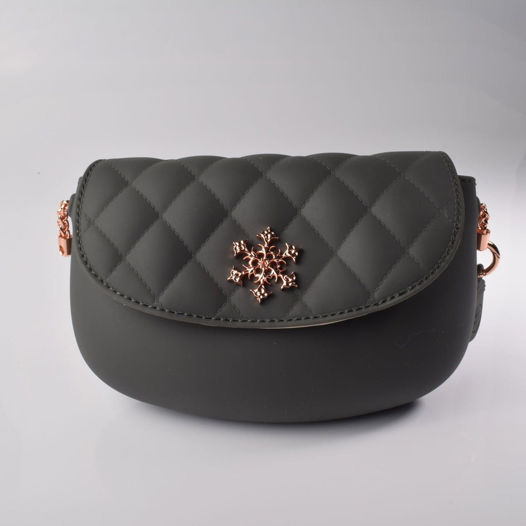 PANNA COTTA Crossbody bag : Charcoal
