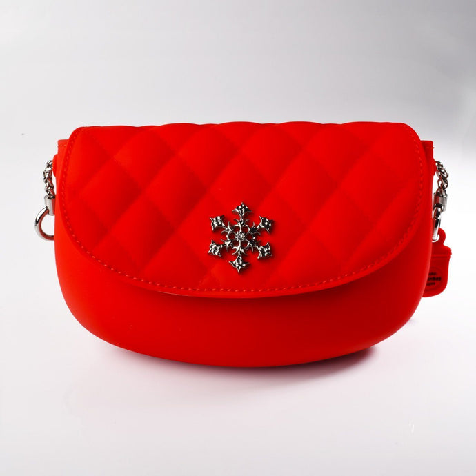 PANNA COTTA Crossbody bag : Red