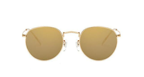Vintage Small Round Sunglasses UV400 R - ApparelFlow