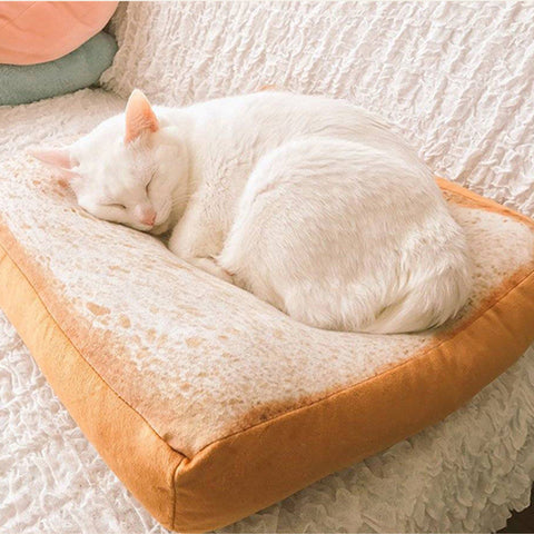 Eco-Friendly Washable Soft Toast Pet Sleeper Pad - ApparelFlow
