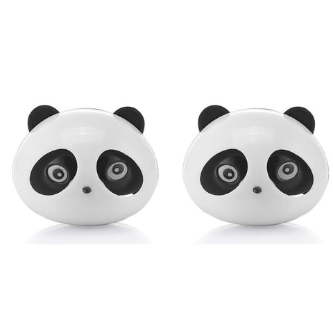 2pcs Mini Wonky Eyed Panda Car Clip-On Air Purifier - ApparelFlow