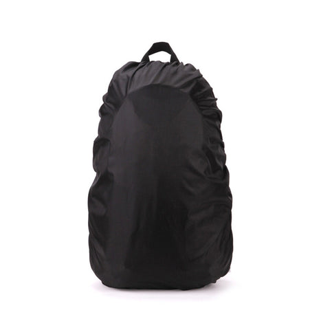 Black Elastic Waterproof Outdoor Bag Cover - ApparelFlow