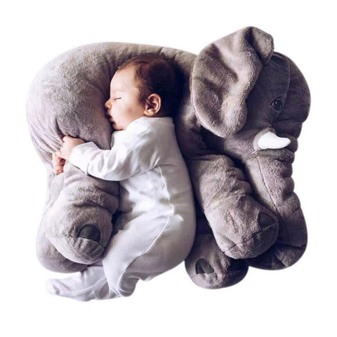 Plush Colorful Giant Elephant Pillow - ApparelFlow