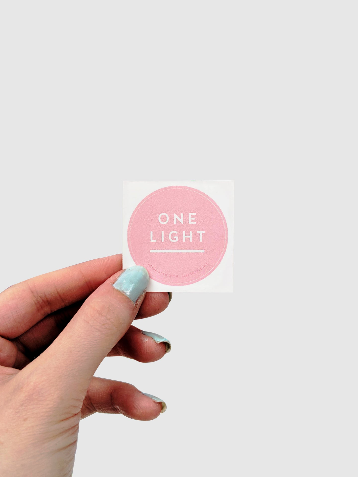 ONE LIGHT STICKER