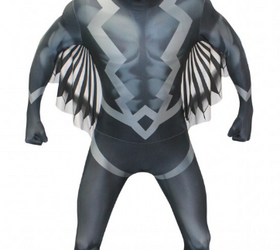 Black Bolt Morphsuit