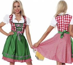 Woman Bavarian Heidi Costume