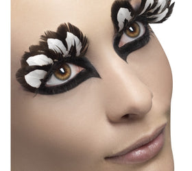 Feather Eyelashes, Brown