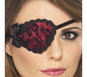 Lace pirate eyepatch