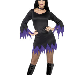 Witch Dress with Purple costume