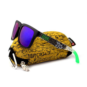 Square Mirrored Sunglasses-Sunglasses-Tropikool-Tropikool