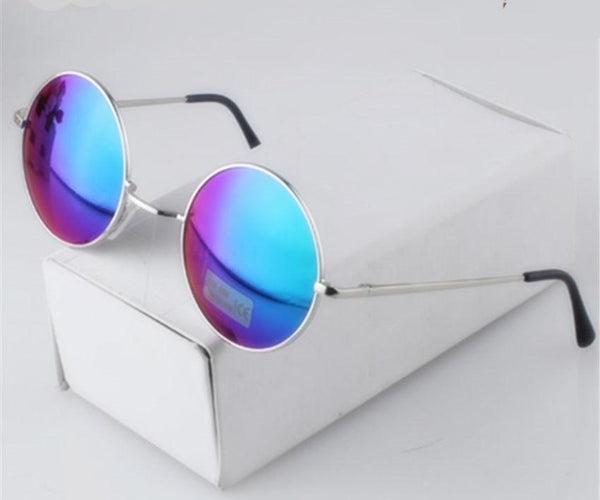 Alloy Round Vintage Sunglasses