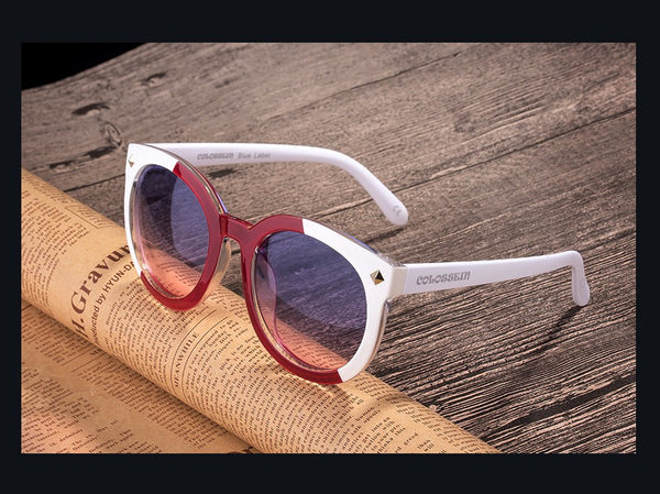 Retro Round Oversized Sunglasses