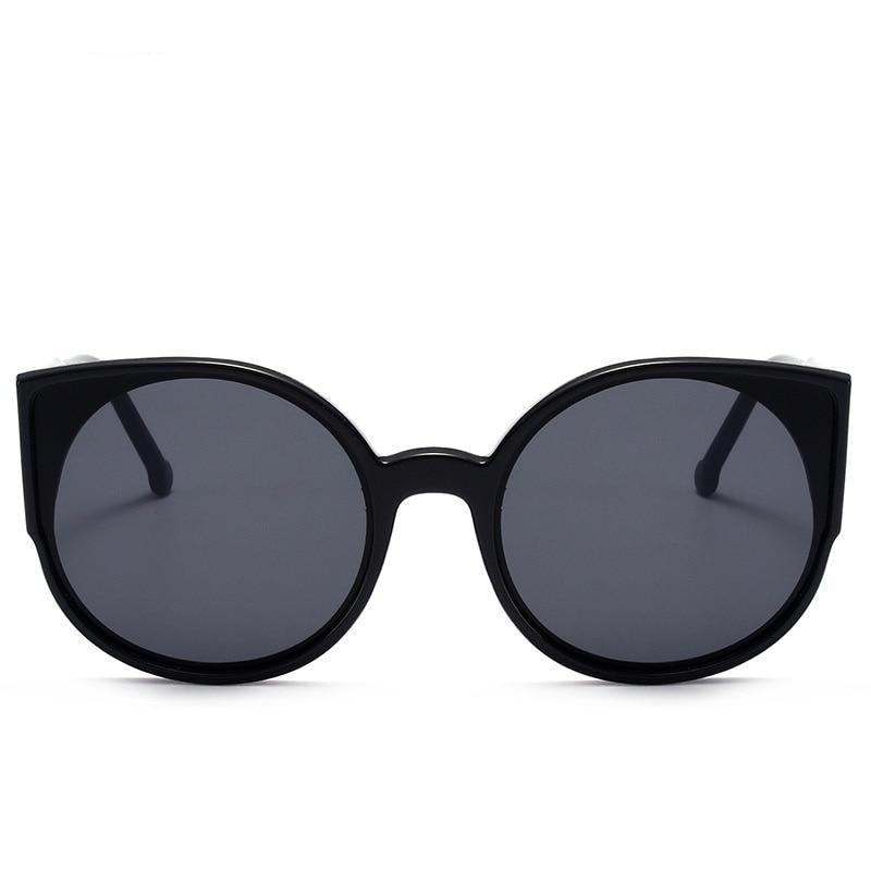 Vintage Round Cat Eye Sunglasses