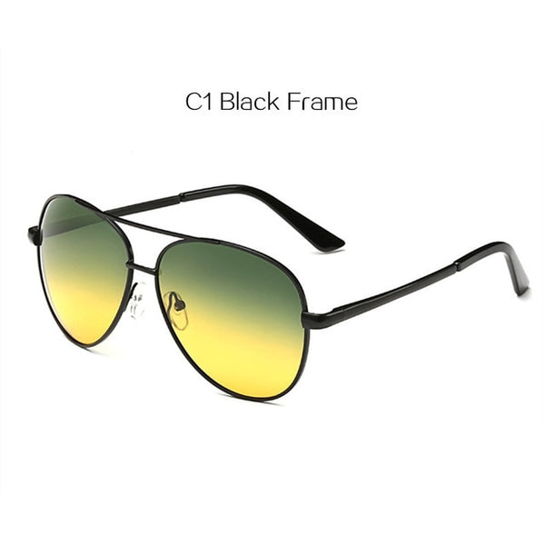 Classic Pilot Day Night Vision Sunglasses