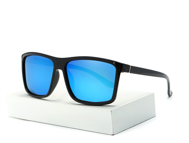 Rectangle Anti-Glare Polarized Sunglasses