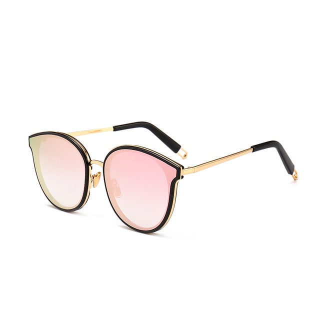 Flat Frame Women Sunglasses