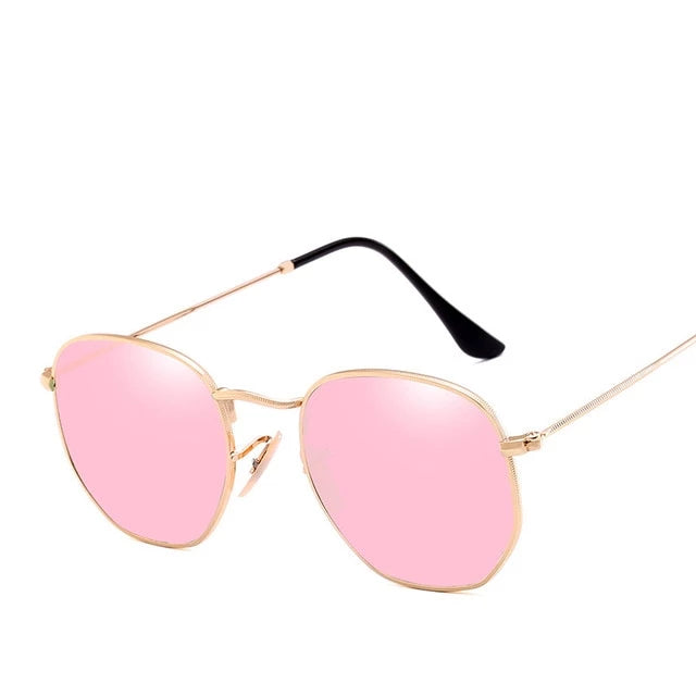 Vintage Retro Flat Lenses Sunglasses