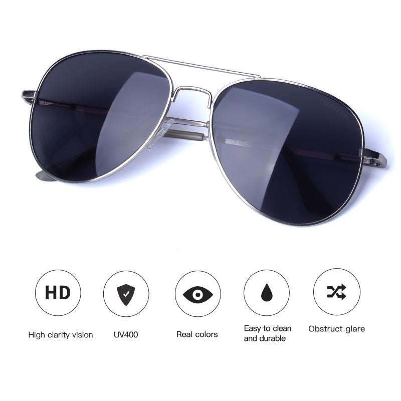 Retro Pilot Sunglasses UV400