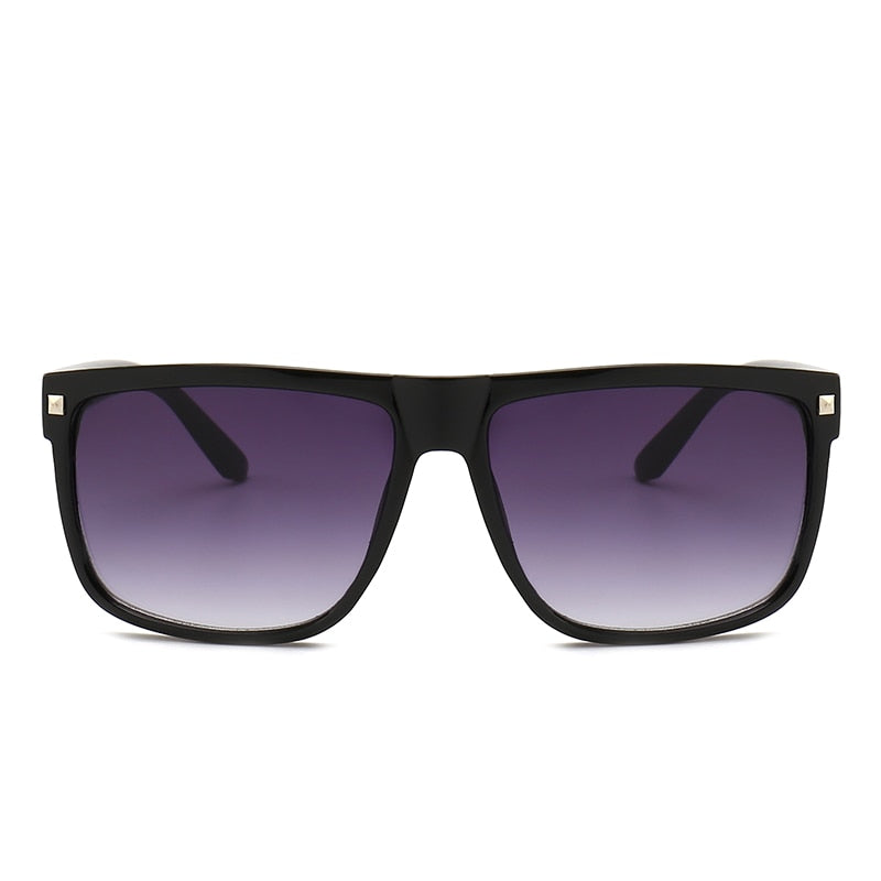 Big Frame Square Vintage Sunglasses