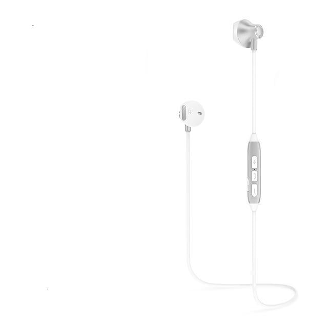 Ultra Light Bluetooth Earphones - Silver