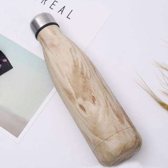 Bamboo Wood Water Bottle