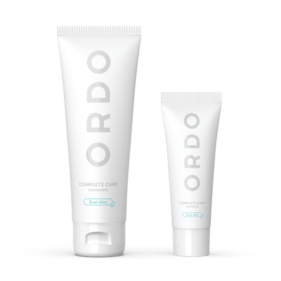 Ordo Complete Care Toothpaste Regular and Travel Size