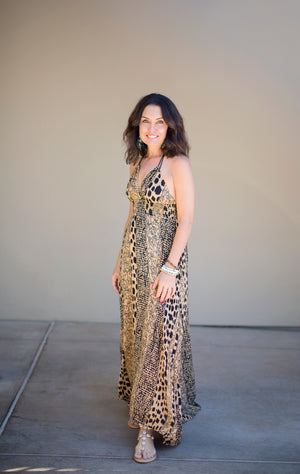 Lost in Sudan Maxi Dress