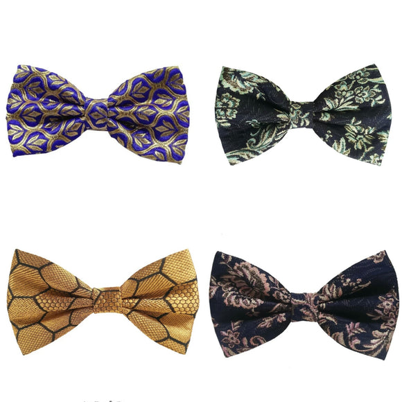 Festive Bow Ties (Set of 4)