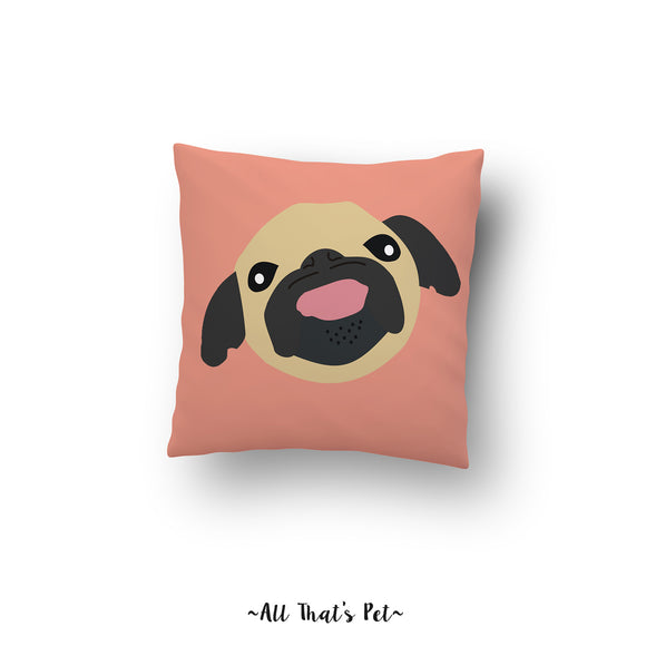 Good Day Pug (Pillow Cover)