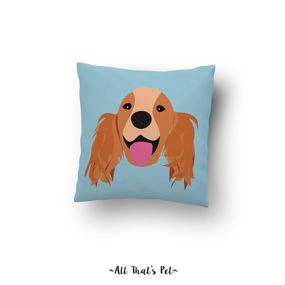 Cockerspaniel Pillow Cover