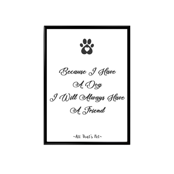 Fur Friend Wall Art