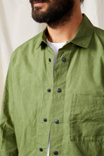 cali overshirt ripstop water repellant 0117green