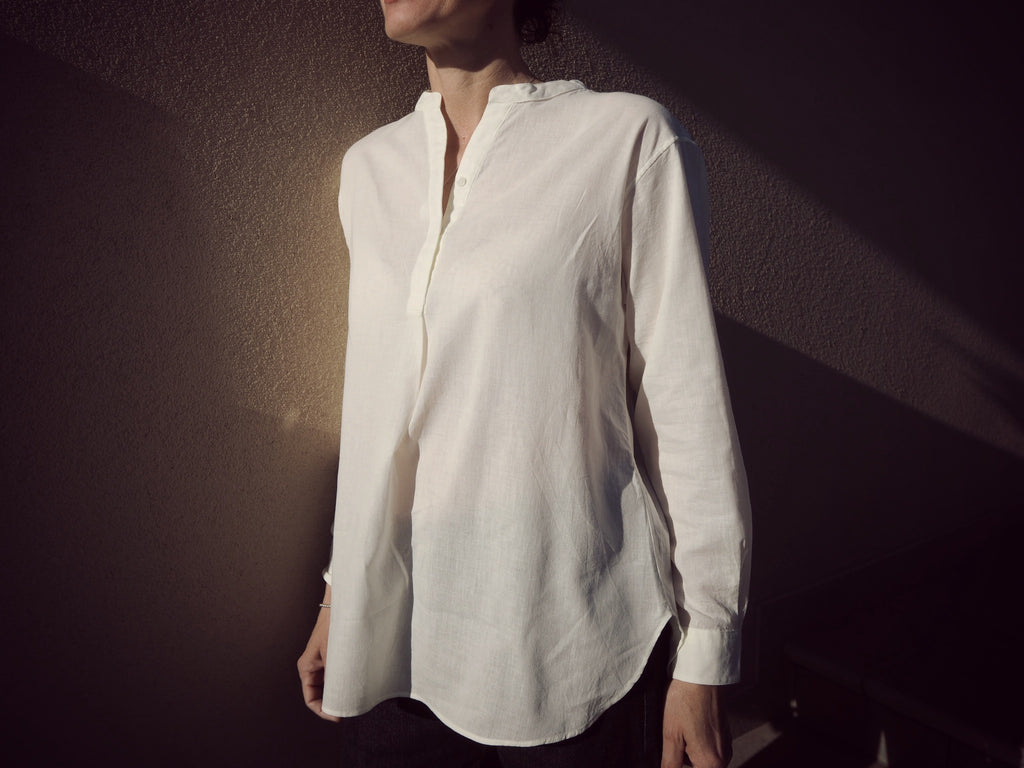 woman pop over Wasarashi single gauze
