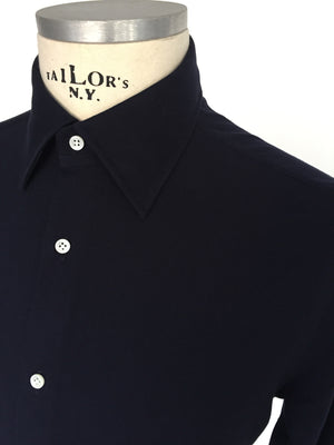 Dress up shirt, jersey dark blue - was 189,00 € now