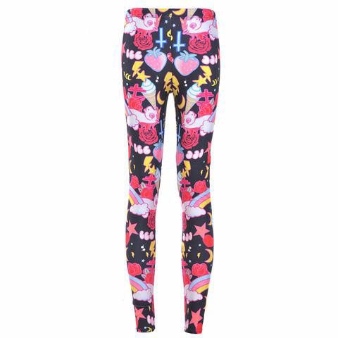 KAWAII-LEGGINGS Printed Leggings