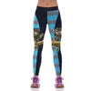 3D Print Cheshire Cat Sporting / Gym Leggings