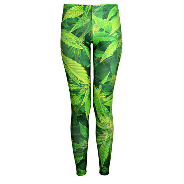 Digital Printing Fun Leggings