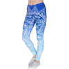 Fresh Autumn Lotus Printing Woman Legging