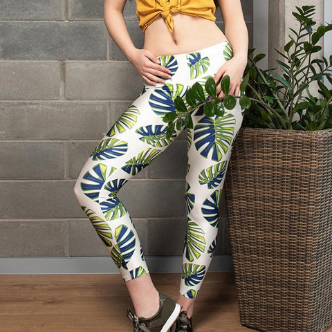 Printed Dry Fit Sport Leggings