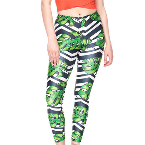 Printed Running Sport Leggings